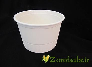 سطل آش یکبار مصرف کاسه یکبار مصرف گیاهی