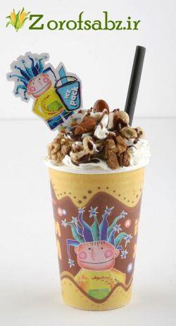 لیوان بستنی آیس پک یکبار مصرف