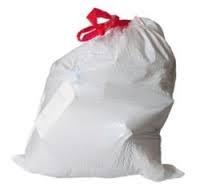 کیسه زباله بند دار رولی